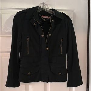 Juicy Couture black military jacket
